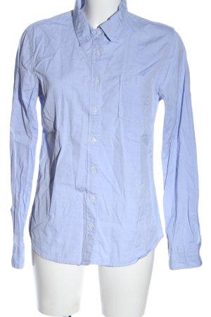 B. D. Baggies Long Sleeve Shirt blue flecked casual look