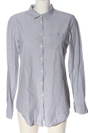 B. D. Baggies Long Sleeve Shirt light grey-white striped pattern casual look