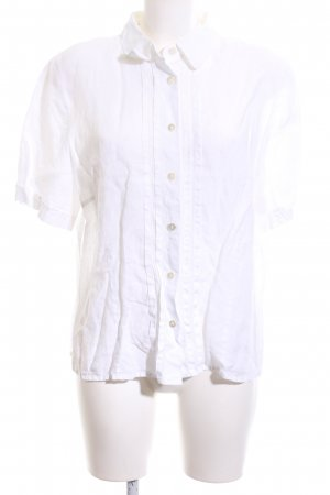 B. M. Company Linnen blouse wit casual uitstraling