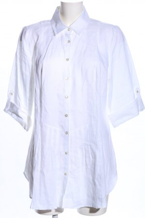 B. M. Company Long-Bluse weiß Business-Look