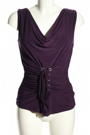 b.p.c. Bonprix Collection Sleeveless Blouse lilac casual look