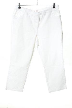 b.p.c. Bonprix Collection Pantalone chino bianco stile casual