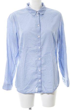 b.p.c. Bonprix Collection Hemd-Bluse blau Business-Look