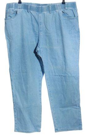 b.p.c. Bonprix Collection Jeans a vita alta blu stile casual