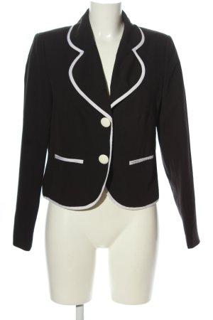 b.p.c. Bonprix Collection Kurz-Blazer schwarz-weiß Business-Look