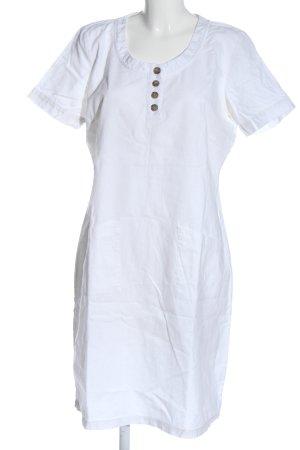 b.p.c. Bonprix Collection Abito a maniche corte bianco stile casual