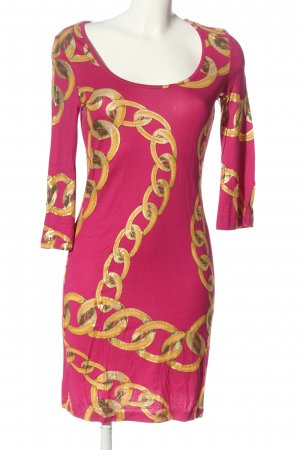 b.p.c. Bonprix Collection Abito a maniche lunghe rosa-arancione chiaro