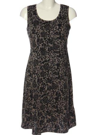 b.p.c. Bonprix Collection Mini Abito grigio chiaro-nero stampa integrale