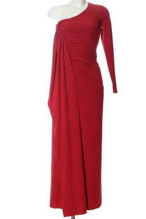 b.p.c. Bonprix Collection Vestido de un hombro rojo elegante