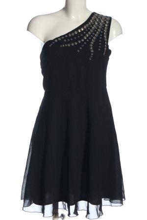 b.p.c. Bonprix Collection One-Shoulder-Kleid schwarz Elegant
