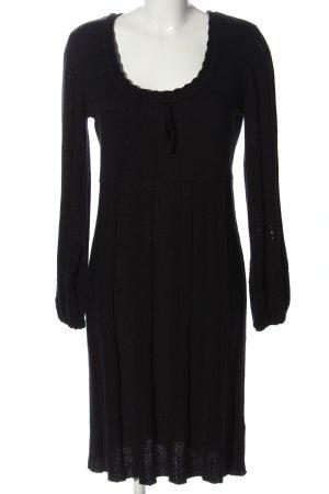 b.p.c. Bonprix Collection Abito maglione nero stile casual