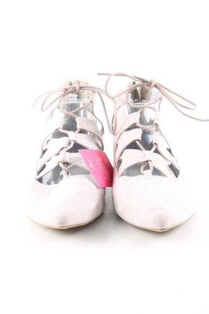 b.p.c. Bonprix Collection Schnürschuhe pink Casual-Look