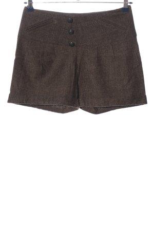 b.p.c. Bonprix Collection Shorts hellgrau meliert Business-Look