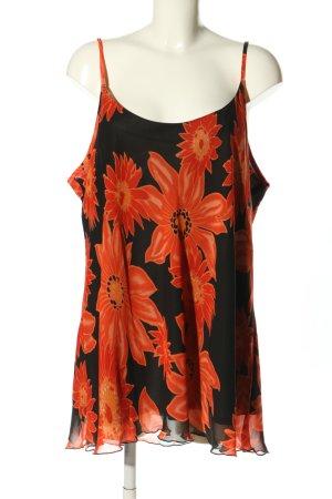 b.p.c. Bonprix Collection Top con bretelline arancione chiaro-nero stile casual