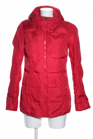 b.p.c. Bonprix Collection Steppjacke rot Steppmuster Casual-Look