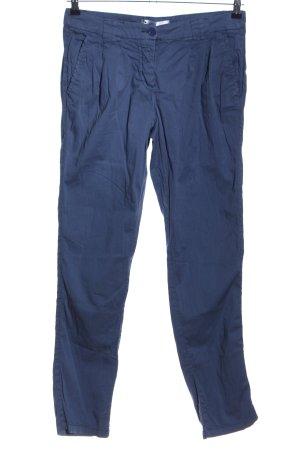 b.p.c. Bonprix Collection Stoffhose blau Casual-Look