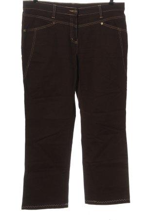 b.p.c. Bonprix Collection Straight-Leg Jeans braun Casual-Look