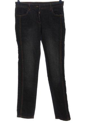 b.p.c. Bonprix Collection Jeans a gamba dritta nero stile casual