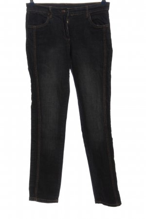 b.p.c. Bonprix Collection Straight-Leg Jeans schwarz Casual-Look