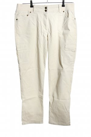 b.p.c. Bonprix Collection Stretchhose weiß Casual-Look