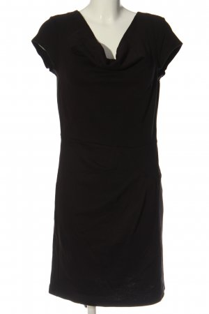 b.p.c. Bonprix Collection Robe en maille tricotées noir élégant