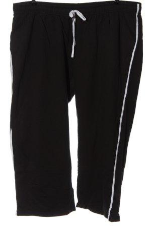b.p.c. Bonprix Collection Pantalone fitness nero stile casual
