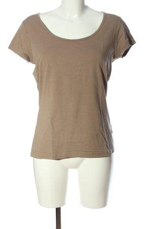 b.p.c. Bonprix Collection T-Shirt braun Casual-Look