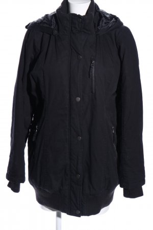 b.p.c. Bonprix Collection Übergangsjacke schwarz Casual-Look