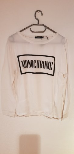 B.young Sweatshirt blanc-noir
