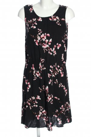 B.young Blouse Dress black-pink allover print casual look