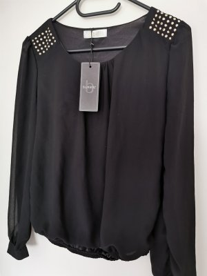 B.young Slip-over Blouse black viscose