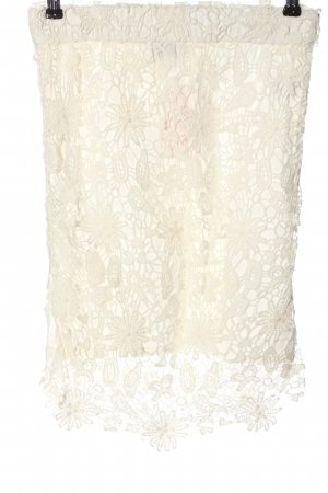 B.young Lace Skirt natural white casual look
