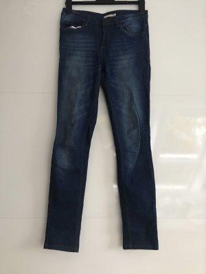 B.young Jeans cigarette bleu-bleu foncé