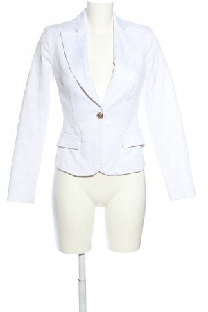 B.young Short Blazer white flower pattern business style