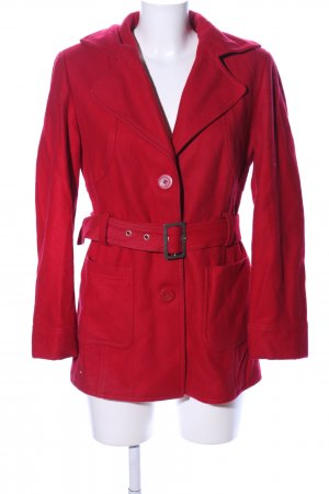 B.young Short Coat red casual look