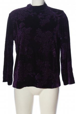 B.young Langarm-Bluse lila Elegant