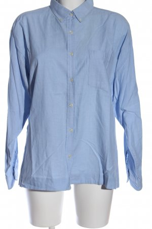 B.young Langarm-Bluse blau Casual-Look