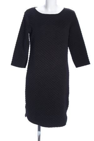 B.young Midi Dress black quilting pattern casual look