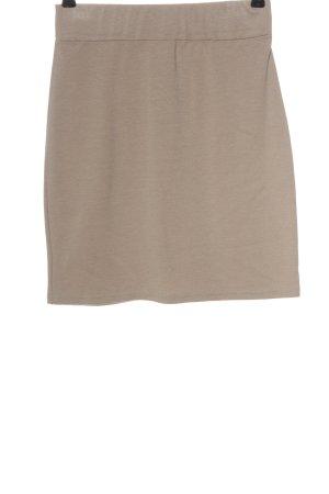 B.young Mini-jupe blanc cassé style décontracté