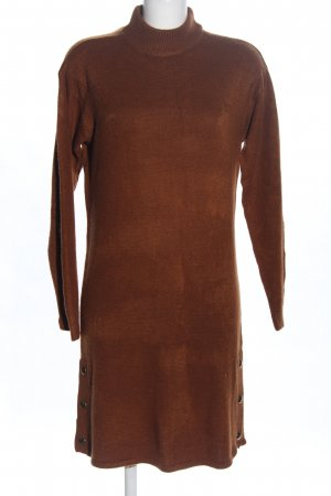 B.young Sweater Dress brown casual look