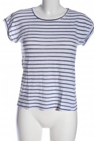 B.young Stripe Shirt blue-white striped pattern casual look