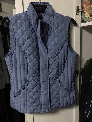 B.young Quilted Gilet azure