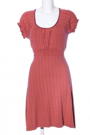 B.young Stretchkleid rot grafisches Muster Casual-Look
