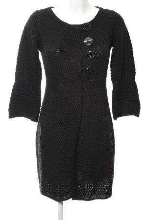 B.young Cardigan tricotés noir torsades style décontracté