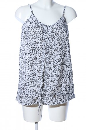 B.young Strappy Top white-light grey allover print casual look