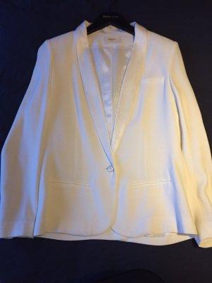 Ba&sh Long Blazer natural white
