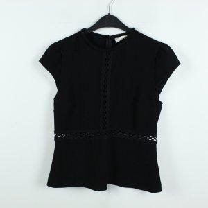 Ba&sh Short Sleeved Blouse black polyester