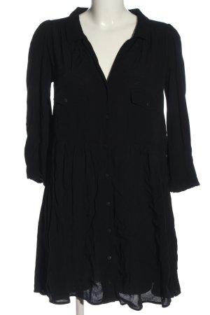 Ba&sh Robe chemisier noir style décontracté