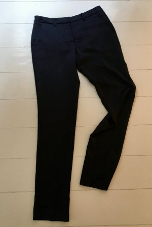 Ba&sh Dana Satin pencil pants size 1 /36/6/S bleunuit dark blue pantalon cigarette straight leg