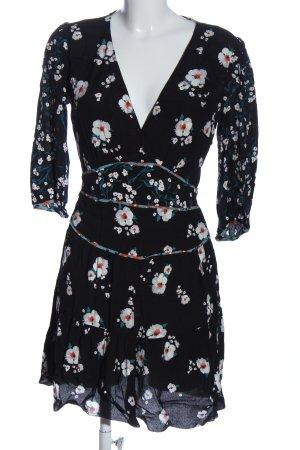 Ba&sh Sukienka z odcięciem pod biustem Wzór w kwiaty W stylu casual